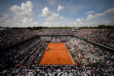 Roland Garros, programado para septiembre-octubre, desea jugar con público, pero no descarta las puertas cerradas.