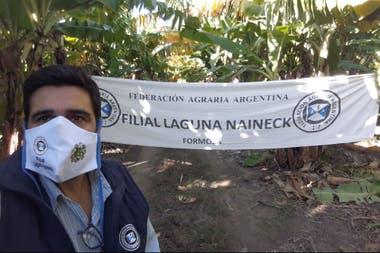 Pánfilo Ayala, de FAA, entidad que organizó y suspendió el tratorazo