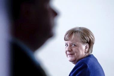 La canciller Angela Merkel, símbolo de una Alemania unida tras décadas de distanciamiento