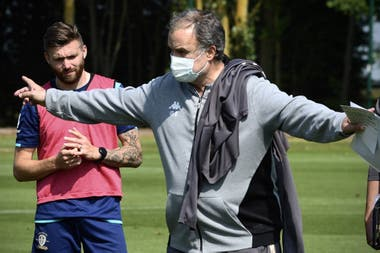 Bielsa is very demanding with the players.
