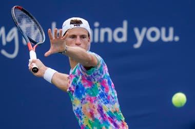 Diego Schwartzman, 9° cabeza de serie, en el US Open, se medirá con el británico Cameron Norrie en la primera ronda.