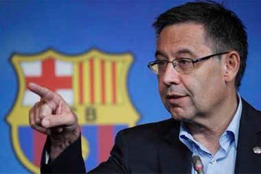 Josep María Bartomeu, presidente de Barcelona.