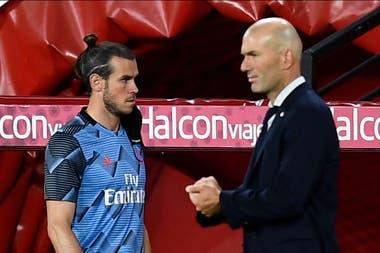 La relación de Bale con ZInedine Zidane entró en punto muerto: el DT no lo considera en el equipo