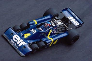 Hoy se cumplen 45 años de la presentación del Tyrrell P34 en el hotel Heathrow Hilton, de Londres; el estreno recién se produjo el 2 de mayo de 1976 en el Gran Premio de España