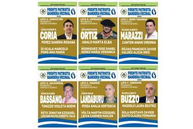 Seis precandidatos compitieron en 2017 por el frente Patriota Bandera Vecinal, que lidera Alejandro Biondini. Sacaron, entre todos, 29.762 votos (el 0,34%) y no pasaron a las generales