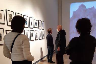 Visita Ministro de Cultura de CABA, Muntref, previo a la apertura de los museos