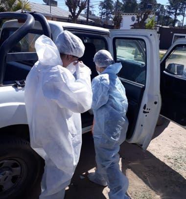Investigadores del ensayo Ivercor, en Corrientes, llegan al domicilio de los pacientes donde firman el consentimiento informado y se le hacen todos los procedimientos del estudio