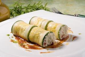 Roll de zucchini y ricota