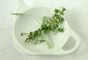Guiso express de verduras y papitas al tomillo