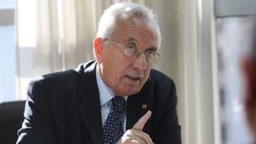 Héctor Recalde, jefe de la bancada del FPV en Diputados