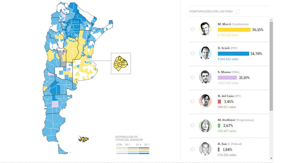 Mapa De Elecciones 2015.Elecciones 2015 Resultados Por Provincia Municipio Y