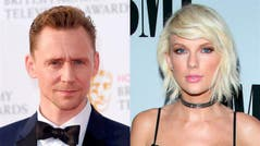 Tom Hiddleston le declaró su amor a Taylor Swift... ¡con una remera!