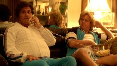En la brillante Behind the Candelabra, con Michael Douglas