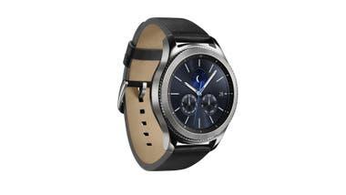 Un clásico. Este es el smartwatch Gear S3 de Samsung, en su versión Classic; también tiene la Frontier, más deportiva ($ 14.999)