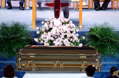 La artista fue sepultada en Detroit, ciudad en la que pasó gran parte de su vida