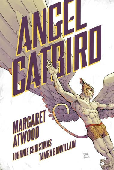 "Portada del cómic ""Angel Catbird"""