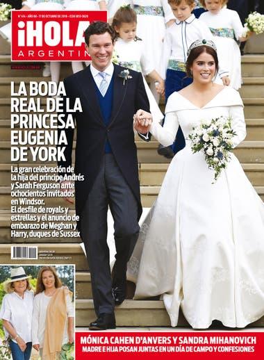 6db13d5a1 Las mejores fotos de la boda real de la princesa Eugenia de York ...