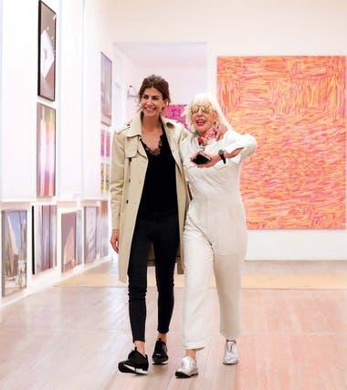 Marta Minujín es una de las artistas que va a acompañar a los partners en su recorrida por el Malba