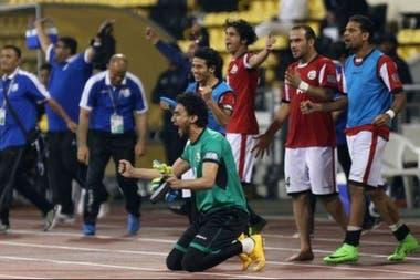 Yemen jugó sus partidos como local en Doha y logró las dos victorias que le dieron la clasificación a la Copa de Asia