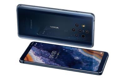 El Nokia 9 PureVIew con sus cinco cámaras traseras