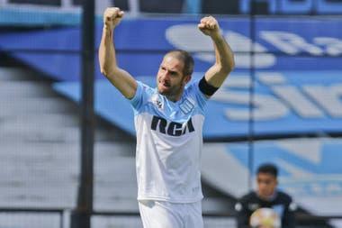 Licha López volvió a Racing en 2016 y consiguió su primer título en el fútbol argentino