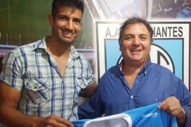 Jugador y presidente de Río Cuarto, en medio de la polémica por un supuesto arreglo
