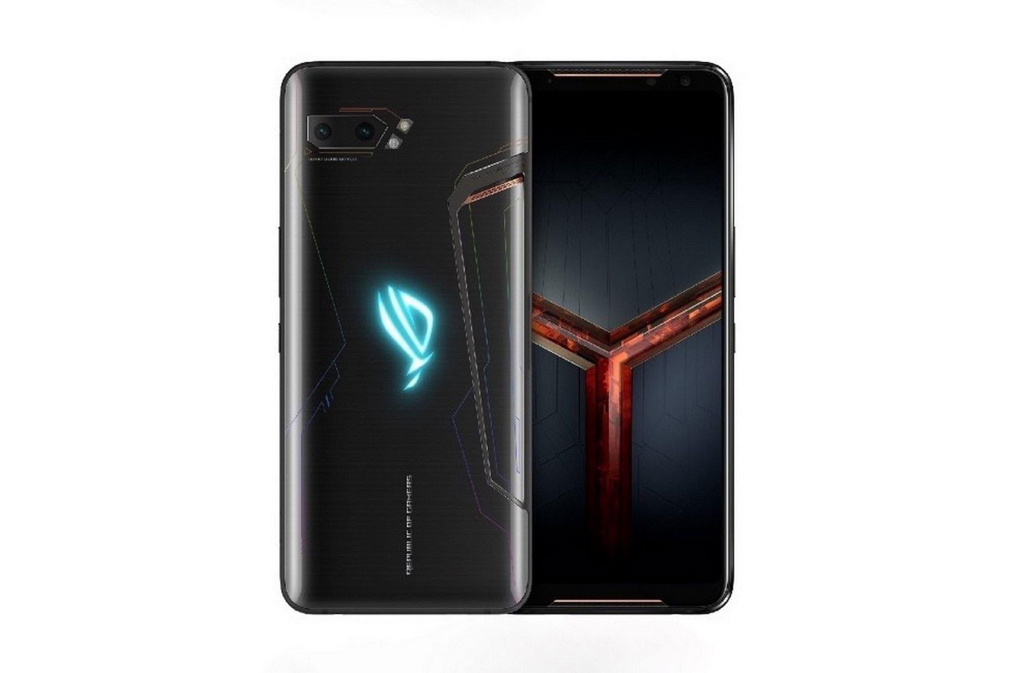Este es el ROG Phone II de Asus, el teléfono gamer más potente del mercado