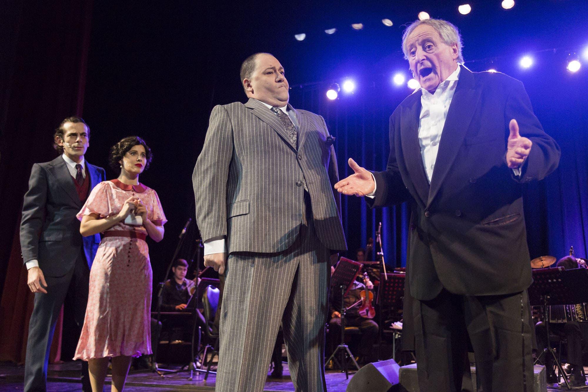 Vio cantar a Gardel a los 6 años y, a los 92, vio cómo la historia de una obra de teatro era también la suya
