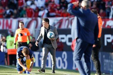 Gallardo y Alfaro, otra vez frente a frente.