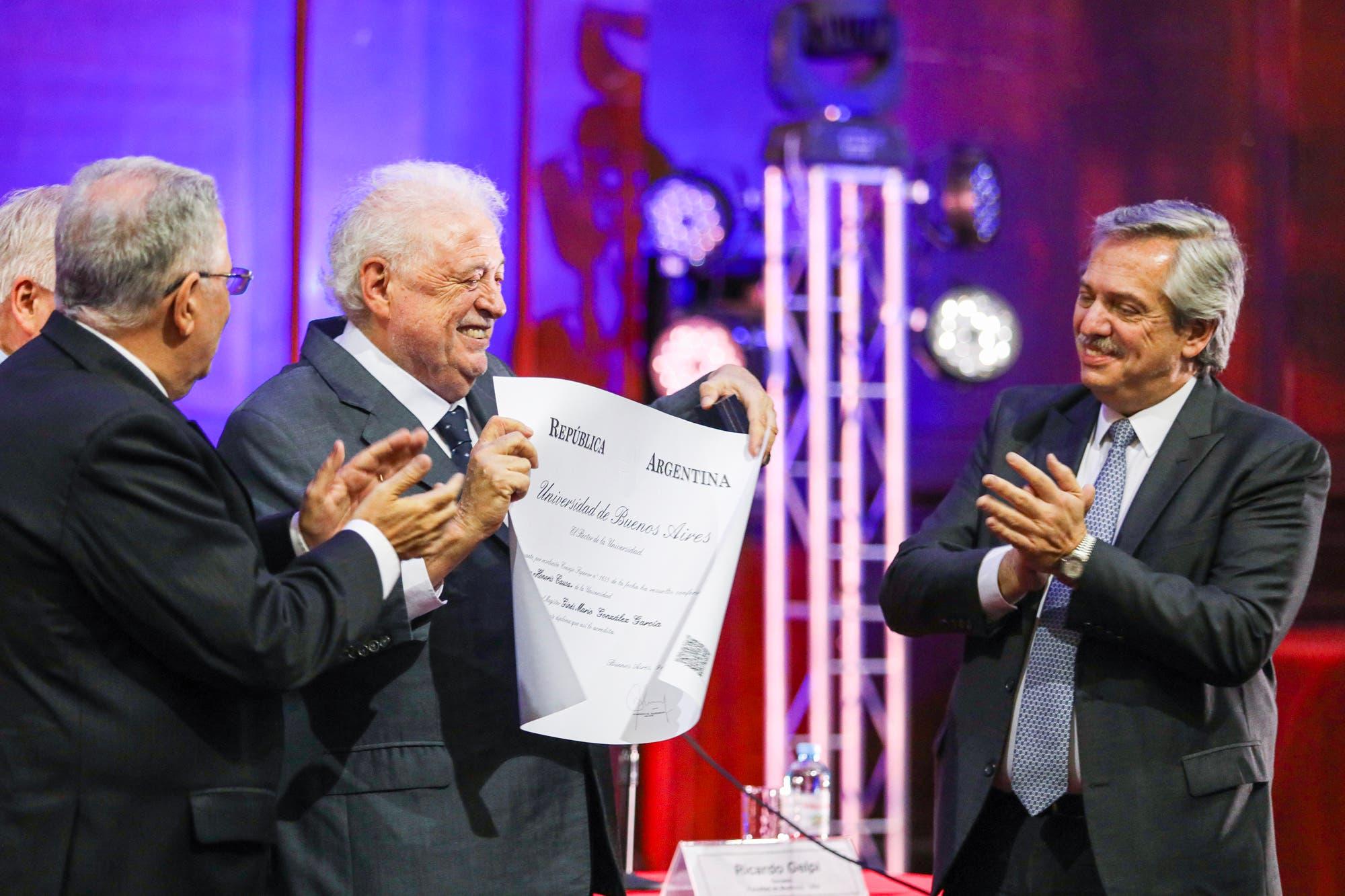 Alberto Fernández confirmó que Ginés Gonzaléz García será su ministro de Salud
