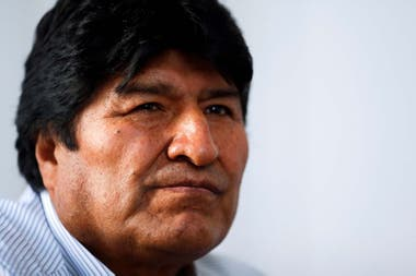 El expresidente boliviano Evo Morales