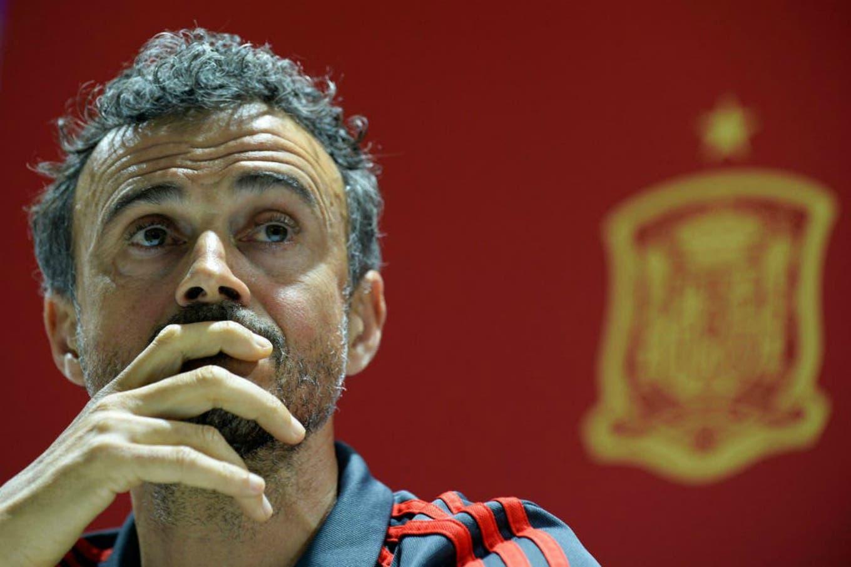 """La """"triste"""" comparación que hizo el DT de España sobre el regreso al fútbol sin público"""