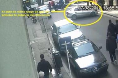 Imágenes del vehículo que habría participado en las tareas de espionaje al Instituto Patria
