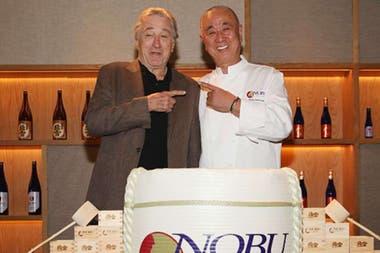 El actor de Taxi driver es dueño de los restaurantes y hoteles de la cadena Nobu