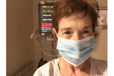 Luego de cinco días sin mejoras, decidieron internarme en terapia intensiva