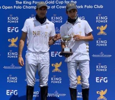 Adolfo y Poroto Cambiaso, campeones del Abierto Británico