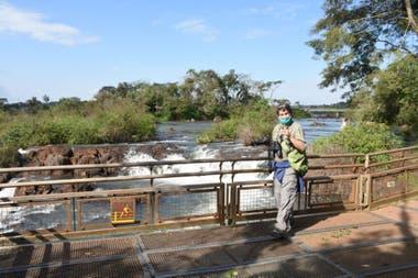 El parque Iguazú recibe hasta 200 visitantes por día para mantener la distancia social