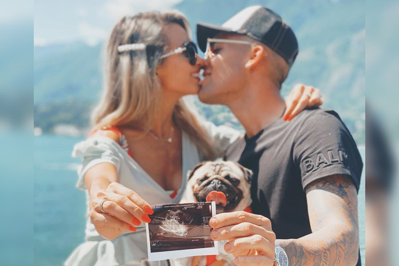 Lautaro Martínez y Agustina Gandolfo anunciaron que esperan su primer hijo