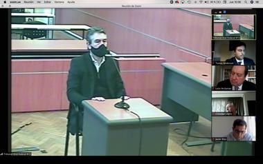 El testigo Héctor Daniel González declaró como testigo en el juicio por la causa Oil Combustibles ante el TOF 3
