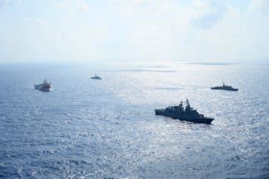 El buque de investigación sísmica Oruc Reis, en el Mediterráneo