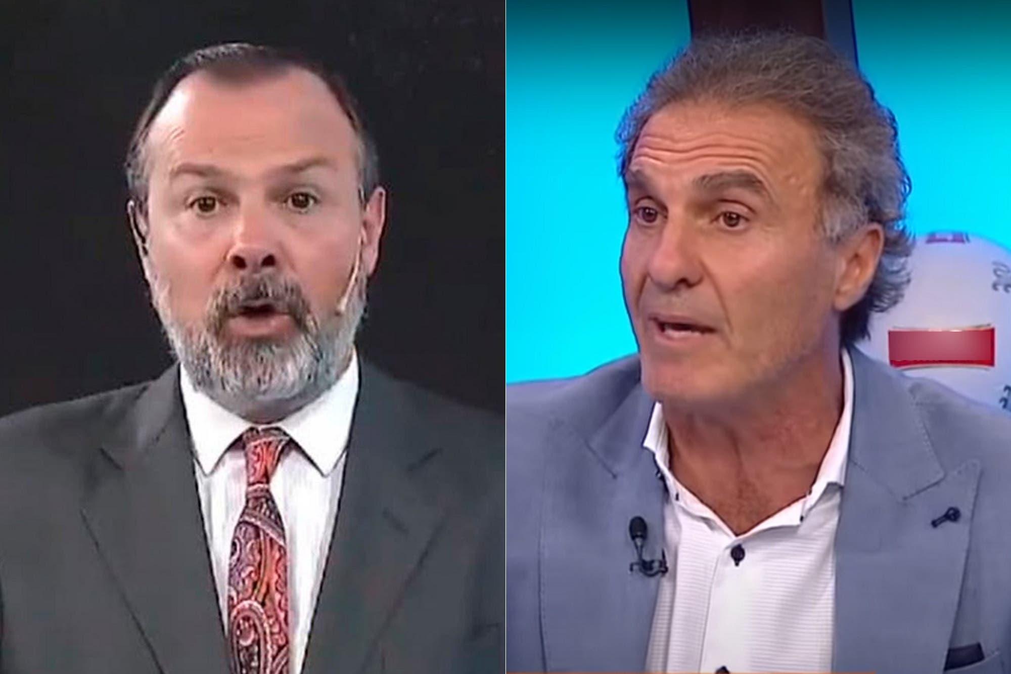 Oscar Ruggeri, durísimo con Gustavo Sylvestre por sus dichos sobre la guerra de Malvinas