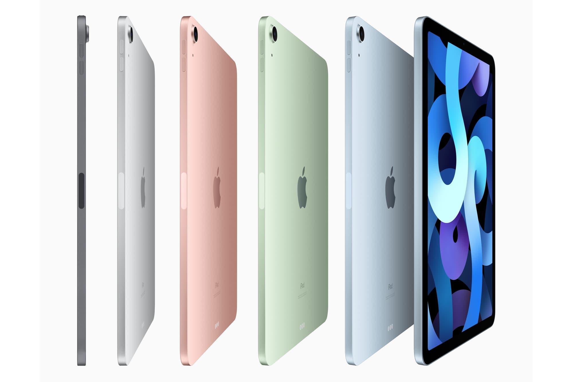 iPad Air: la nueva tableta de Apple tiene un chip A14 Bionic, pantalla más grande y USB-C