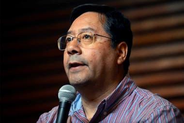 Luis Arce, el candidato del MAS