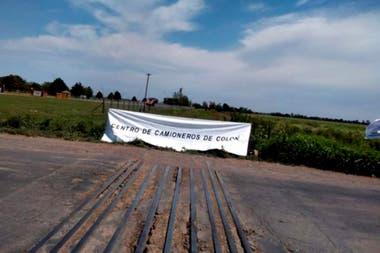 Según el sindicato de camioneros, la empresa no cumplió un acuerdo de palabra