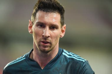 Lionel Messi, figura de la Selección Nacional que ayer se enfrentó con Perú