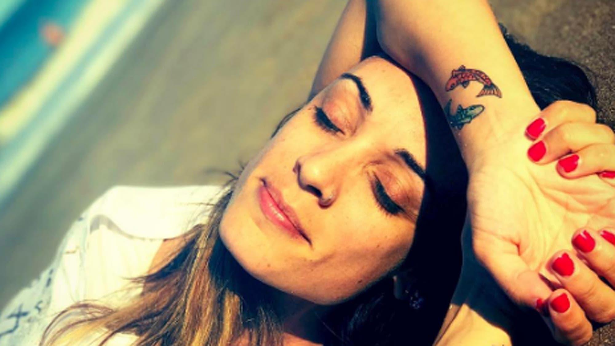 Actrices Porno 2017 Tatuajes martina gusmán y un tatuaje especial por amor a sus hijos