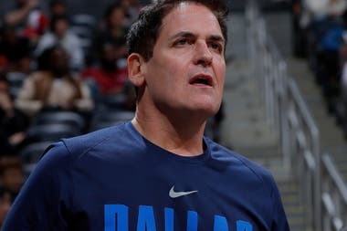 Mark Cuban, el dueño de Dallas Mavericks