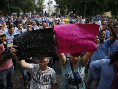 A la tarde, concentración de choferes en reclamo de Justicia, en La Matanza