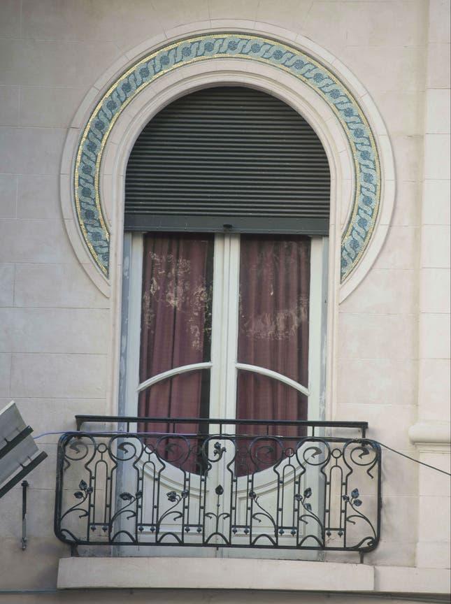 Una de las ventanas del Hotel Chile