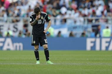 """Lionel Messi: """"El penal hubiese cambiado el rumbo del partido y me hago cargo"""""""